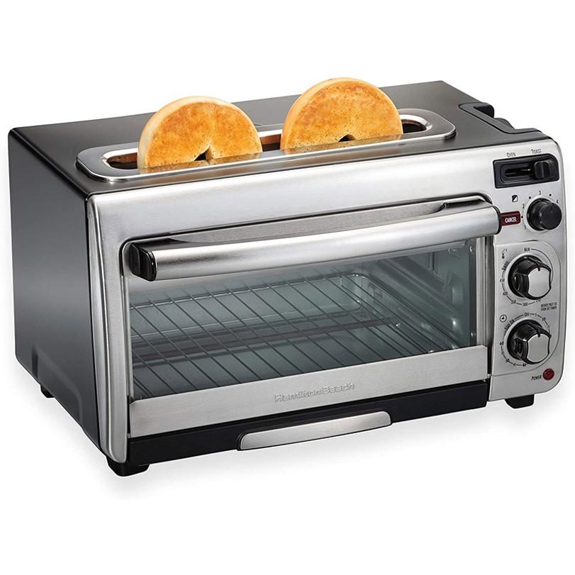 Hamilton 烤麵包機 烤箱 Beach 2-in-1 Countertop Oven and Long Slot