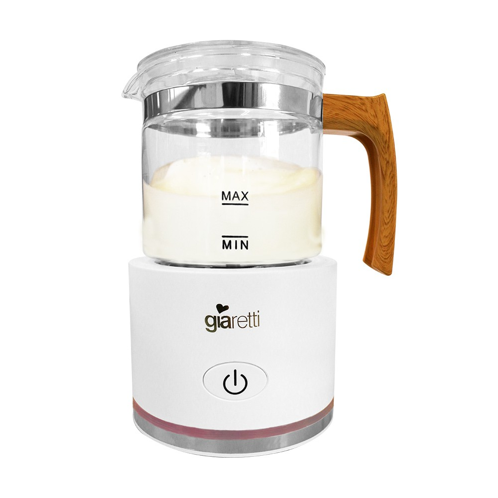 【生活工場】Giaretti 全自動冷熱奶泡機GL-9121-簡約白
