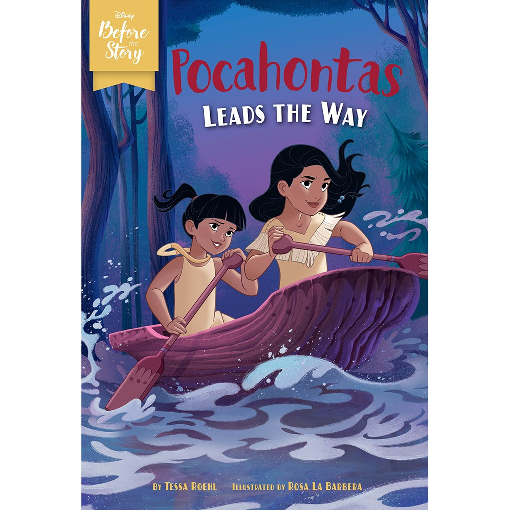 Pocahontas Leads the Way 寶嘉康蒂的帶領(英文橋樑書)