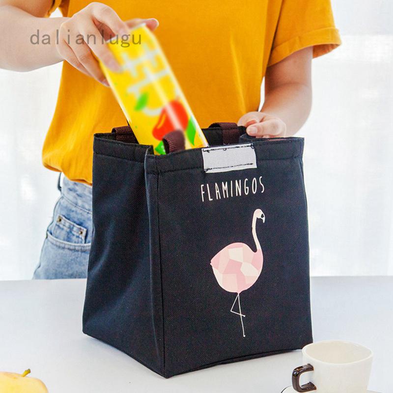 大連盧格朗霍夫芝芝大火烈鳥午餐袋, 厚便攜式防水保溫袋, 鋁箔保溫午餐袋, 便當盒袋