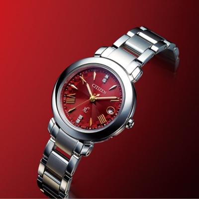 CITIZEN 星辰 xC系列 東京˙紅限量鈦金屬光動能電波錶(ES9440-51X)27mm