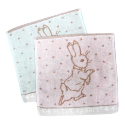 比得兔無捻手帕巾/提格精繡手帕巾-PR323/PR324/PR325-MT-12入