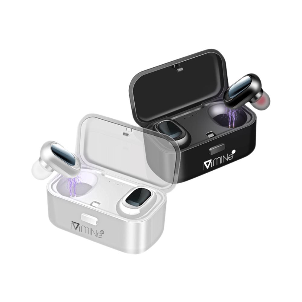 Mine峰 魔方真無線藍牙耳機 IPX5防水 防汗 Hi-Fi 高音質 智能降噪 免持通話 藍牙5.0 磁吸充電盒 耳塞式耳機 藍芽耳機 運動耳機 影音用品 ARZ藍牙耳機