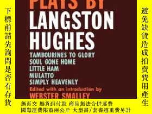 二手書博民逛書店Five罕見Plays By Langston HughesY364682 Hughes, Langston