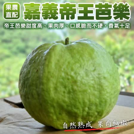 【果農直配】帝王芭樂X1箱(5台斤±10%/箱)