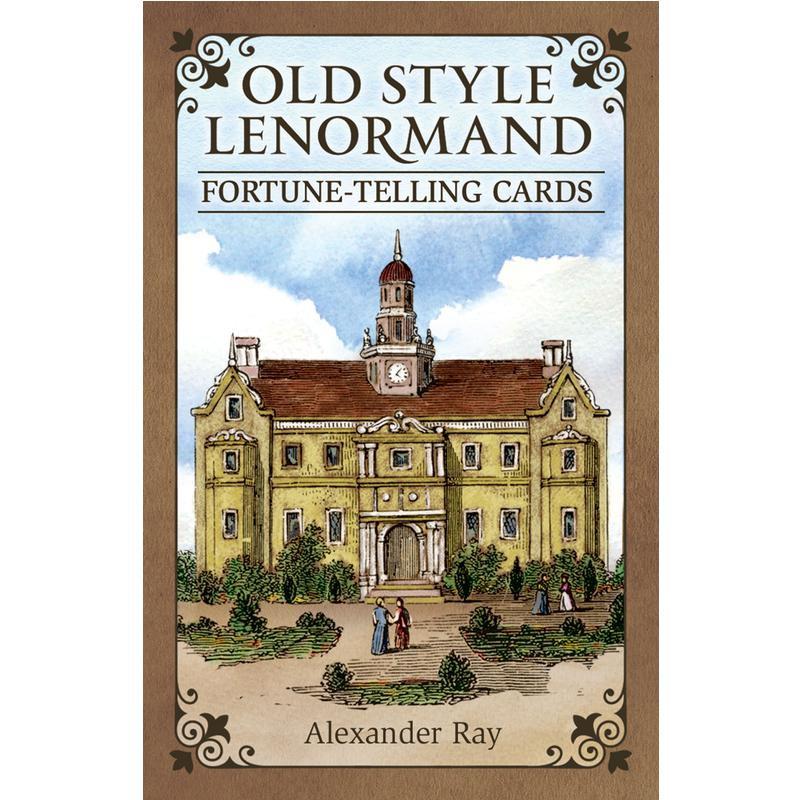 復古雷諾曼 Old Style Lenormand 精緻且圖文並茂【左西購物網】