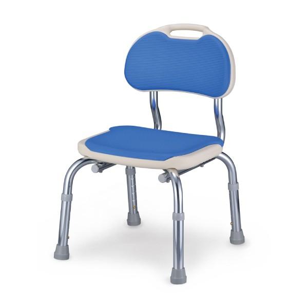 安壽 有背靠洗澡椅-藍色(CPE-N)【杏一】