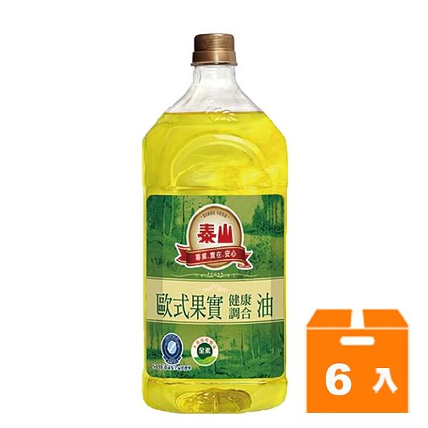 泰山歐式果實調合油1.5L(6入)/箱 【康鄰超市】