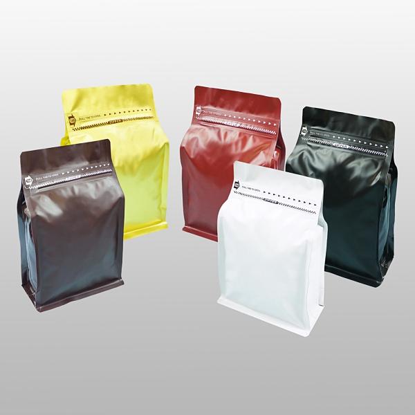 東尚公版袋MP250PZ半磅霧面口袋拉鍊平底袋Box Pouch+Pocket Zip(平底+霧面+拉練)=50個/盒(沒有氣閥)