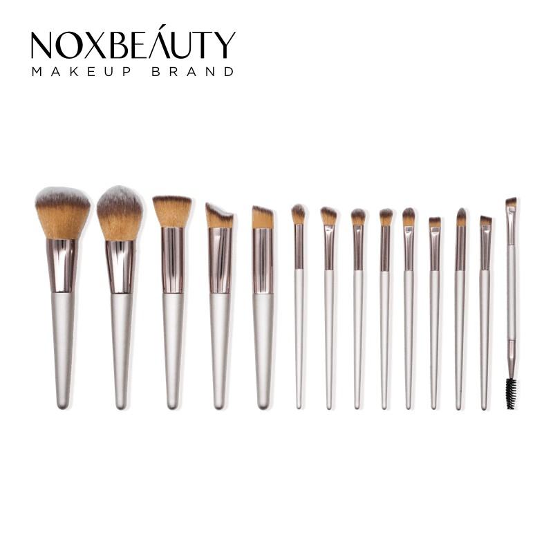 NOXBEAUTY 13支粉色化妝套刷 刷具組