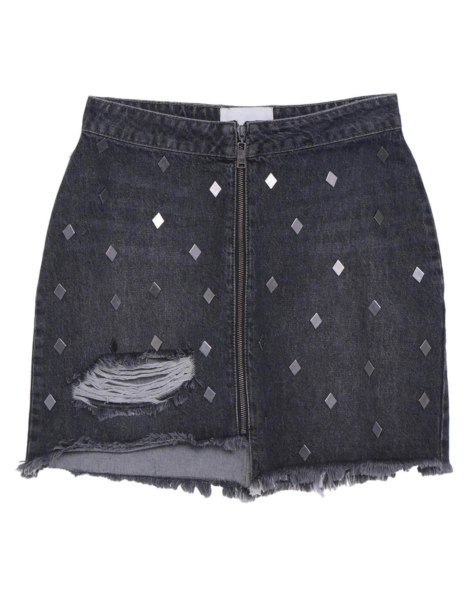 ONE x ONETEASPOON Denim skirts - Item 42825584