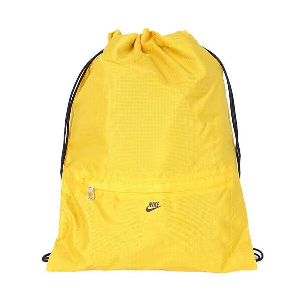 Nike Bag [BA2914-751] 束口袋 休閒包 健身袋 兩用 肩背 多功能 抽繩 輕量 黃