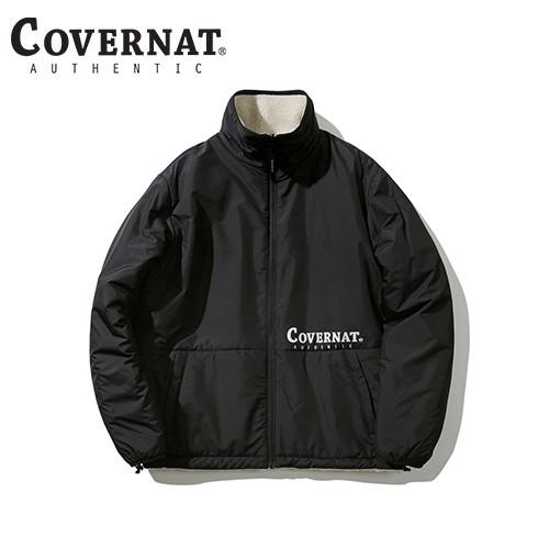 [COVERNAT] 兩穿式羊毛外套(象牙白/黑色)