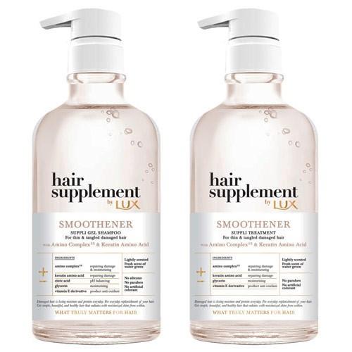 麗仕LUX髮の補給角蛋白胺基酸洗潤組(贈衛生紙)【愛買】