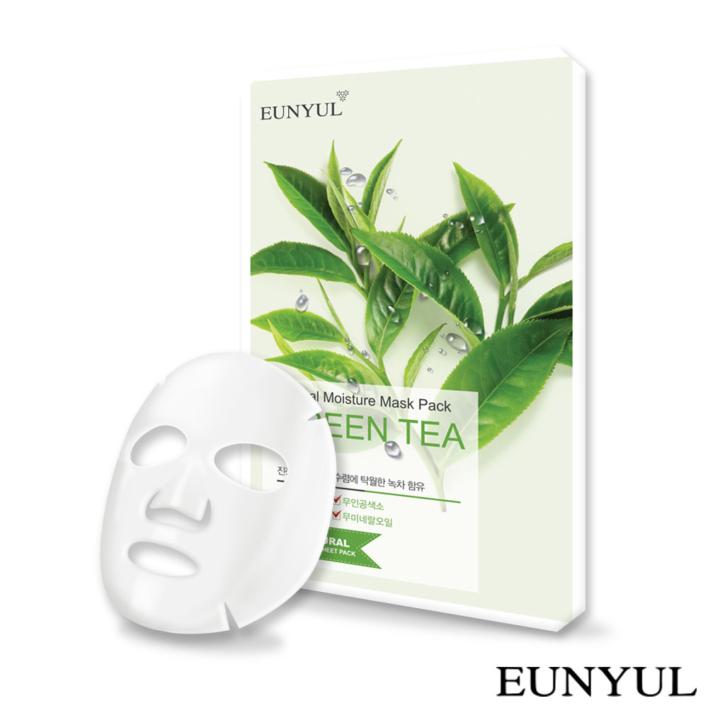 EUNYUL 自然綠茶面膜