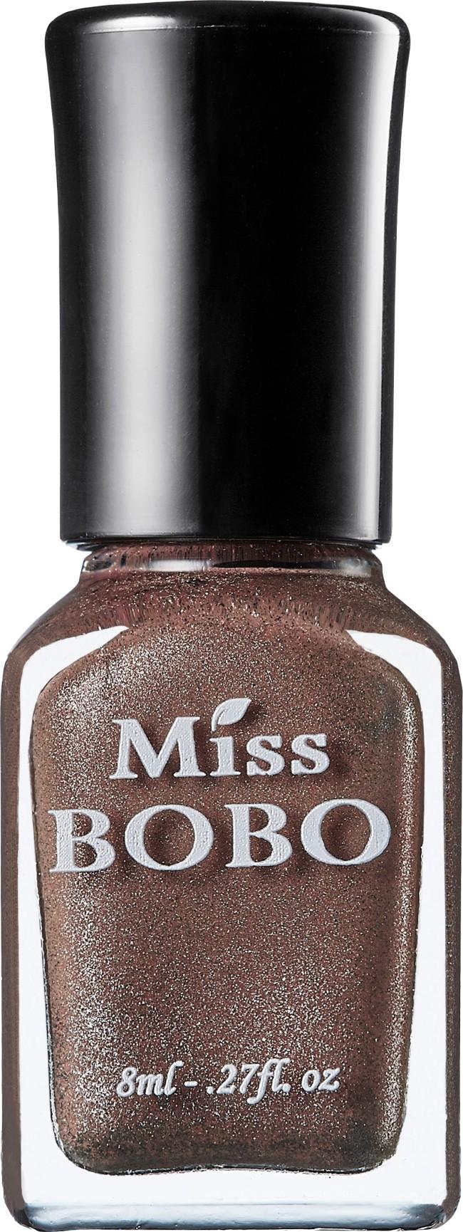 Miss BOBO水性可剝磁力指彩 琥珀金棕