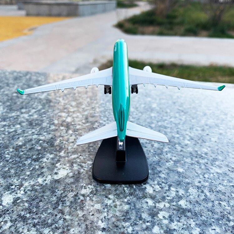 飛機模型 航空客機1:500空中巴士飛機模型仿真合金擺件 兒童玩具 收藏【DD23893】