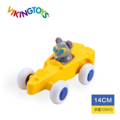 【瑞典 Viking toys】動物賽車手-起司麥斯(14cm) 81362