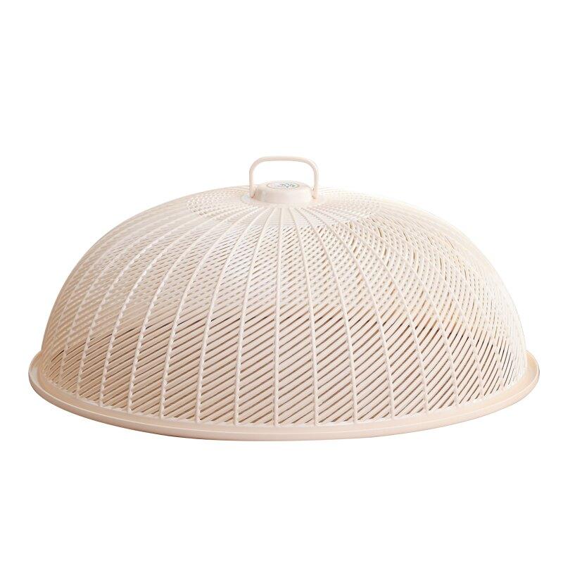 圓形菜罩塑料家用遮菜罩大號防蒼蠅蓋菜罩廚