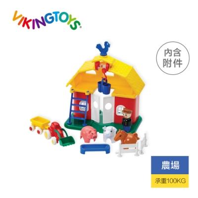 【瑞典 Viking Toys】公雞穀倉 5575(幼兒安全玩具)