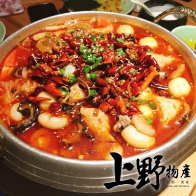 (滿899免運)【上野物產】麻辣花椒海鮮鍋(1200g±10%/包)x1包