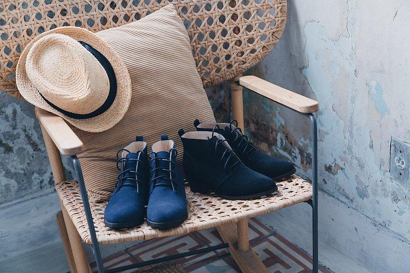 【哥本哈根】顯瘦綁帶防潑水靴_黑 |手工訂製 | MIT 21.5-27大尺碼