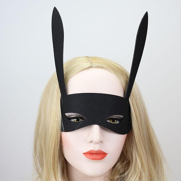 熱銷新品 抖音網紅同款半臉兔兒面具舞會cos動漫死神眼罩成人兒童男女面具