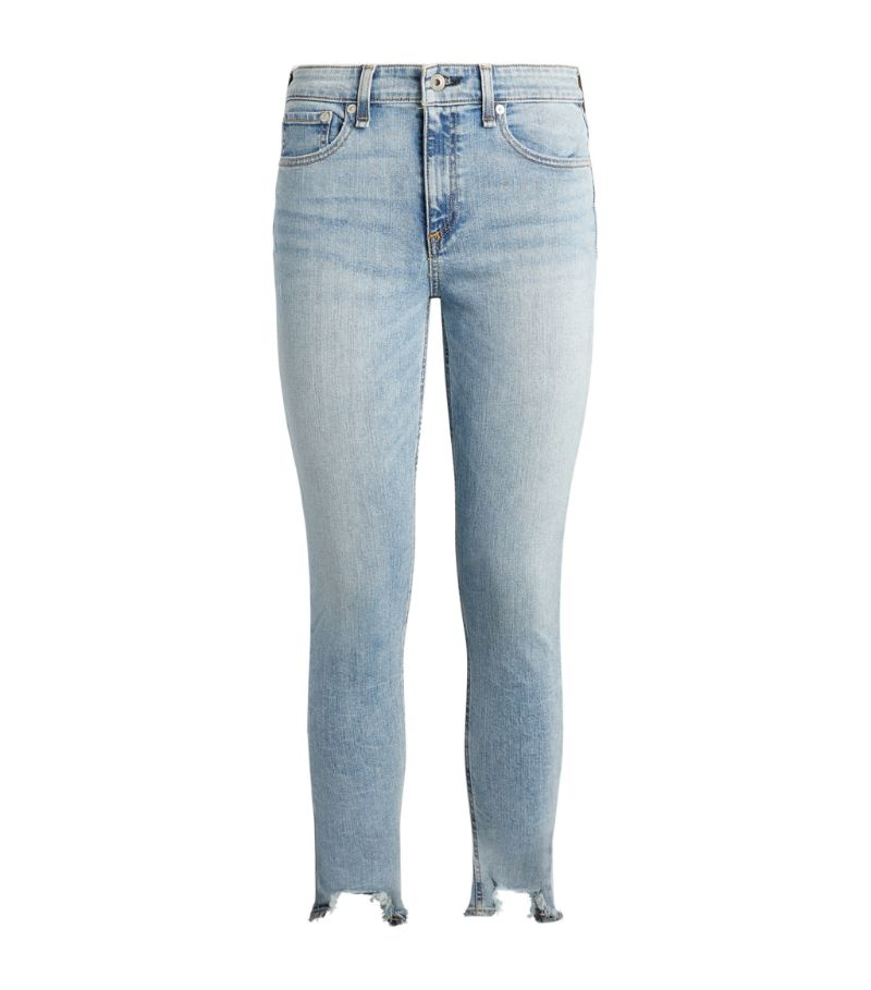 Rag & Bone Cate Mid-Rise Skinny Ankle Jeans