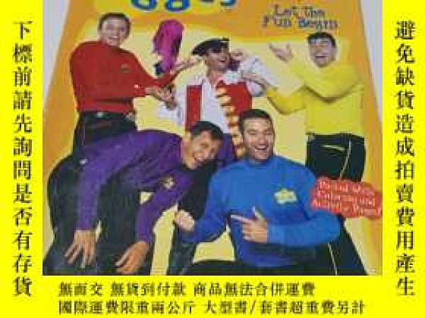 二手書博民逛書店the罕見wiggles coloring and activity bookY9212