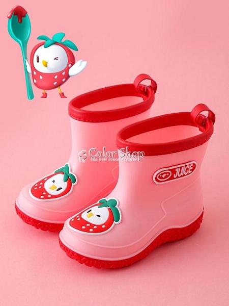 夏季兒童雨靴水鞋防滑卡通男女童1-3-6歲中小童幼兒寶寶雨鞋 快速出貨