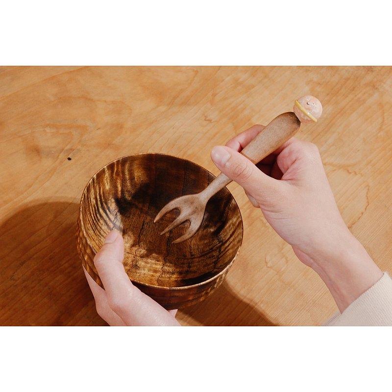 木製餐具 - 叉子 / 宇宙系列