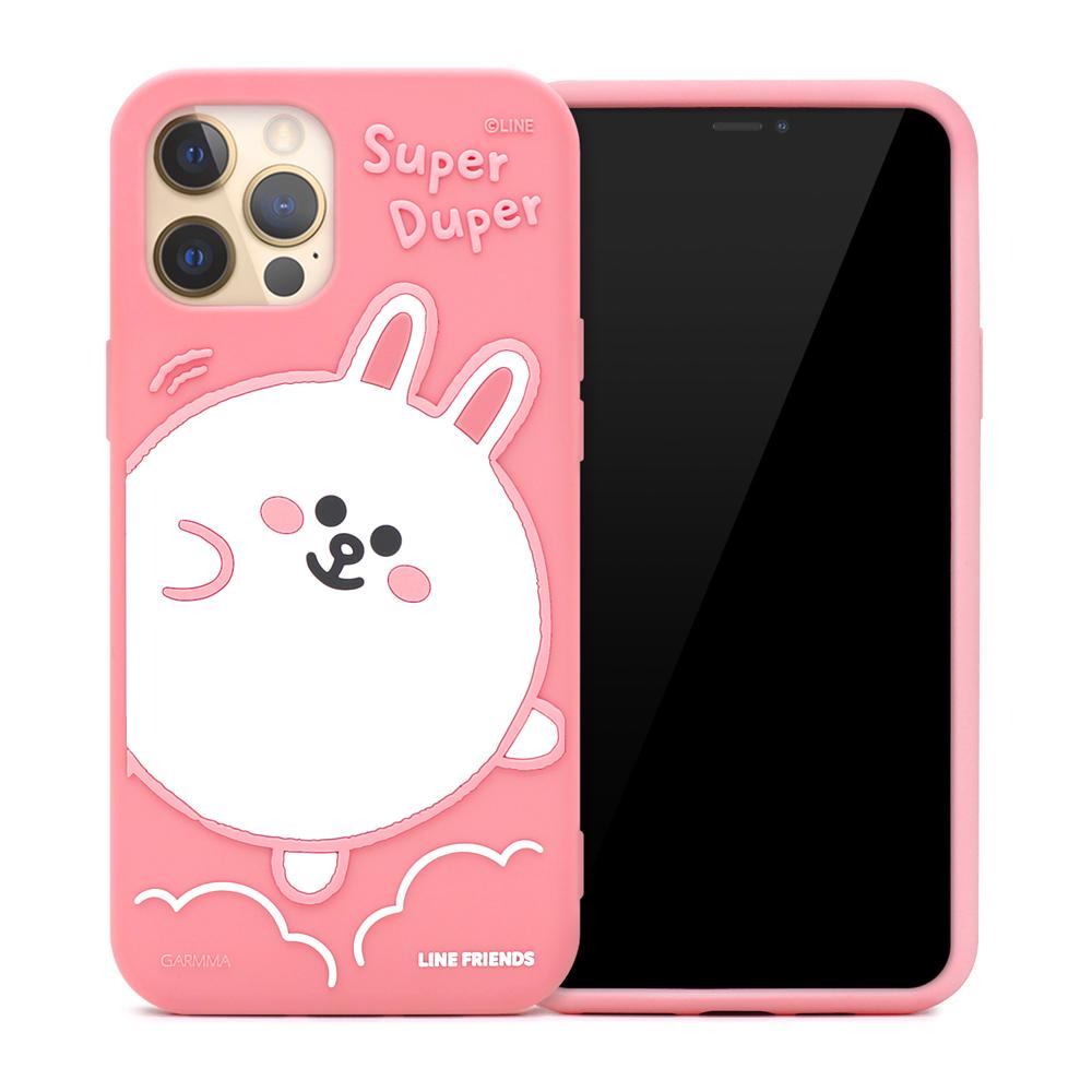 LINE FRIENDS iPhone12/Mini/Pro/ProMax 果凍手機套 兔兔 熊大 | OMG買瘋樂