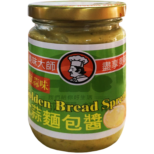 美味大師.大蒜麵包醬220g(強蒜味)