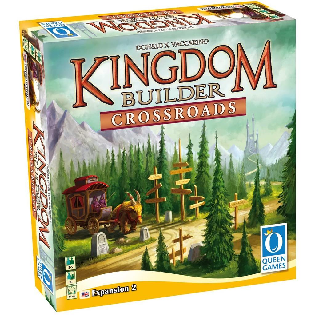 《QUEEN GAMES》王國建造者 Kingdom Builder Ex Crossroads 【桌弄正版桌遊】