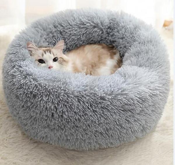 貓窩 四季通用泰迪狗窩封閉式貓咪冬天寵物貓床墊冬季保暖用品【快速出貨好康八折】