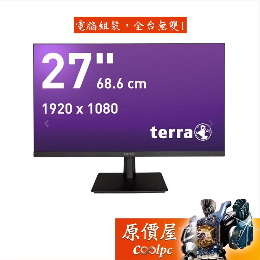 terra 2763W 27吋/1H1P/5ms/PLS/含喇叭)/德國品質/五年保固/螢幕/原價屋