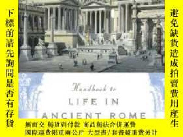 二手書博民逛書店Handbook罕見To Life In Ancient RomeY364682 Adkins, Lesley