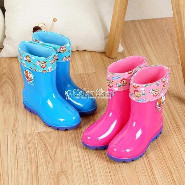 2-10歲兒童雨鞋寶寶水鞋男女童中筒雨靴小中大童防滑童膠鞋雨水靴 快速出貨