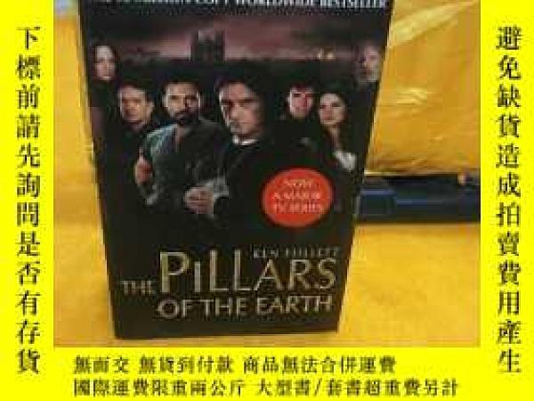 二手書博民逛書店The罕見Pillars of The Earth地球支柱 聖殿春秋Y12064 Ken Follett 著