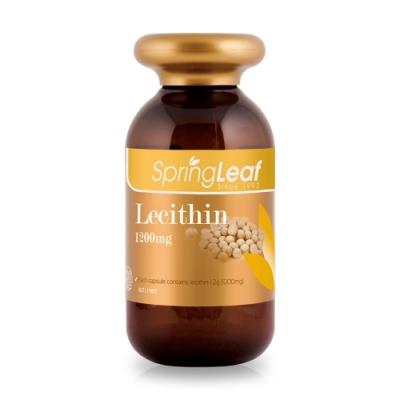 Spring Leaf 綠芙特級 卵磷脂膠囊 200顆/瓶