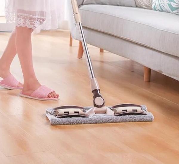 拖把 手懶人平板拖把家用一拖免手洗干濕兩用木地板拖布拖地神器凈TW【快速出貨八折下殺】