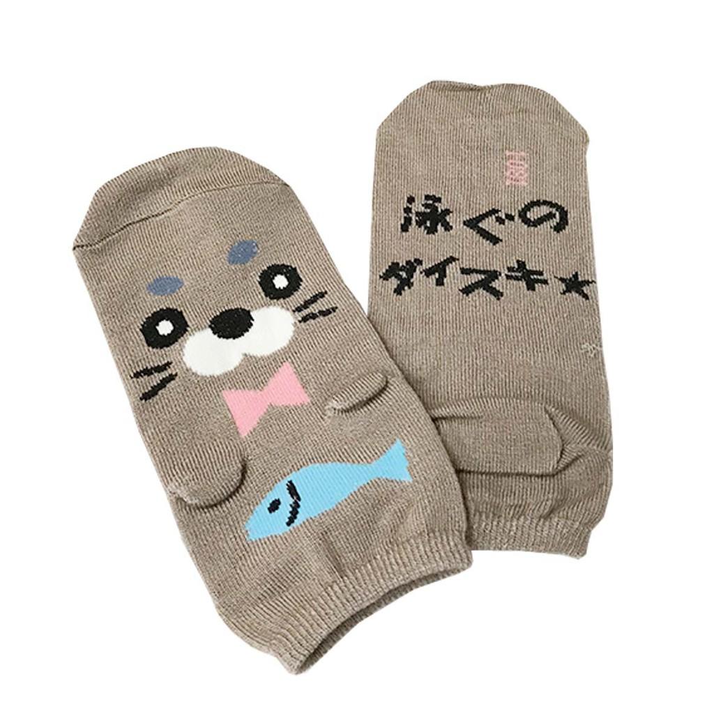 DV日式直版襪水獺081