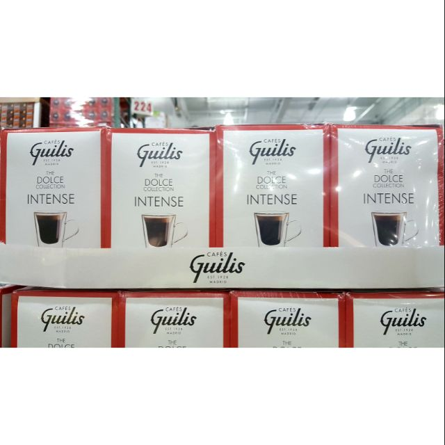 CAFES GUILIS DOLCE膠囊咖啡組64顆 適用DOLCE GUSTO咖啡機-吉兒好市多COSTCO代購