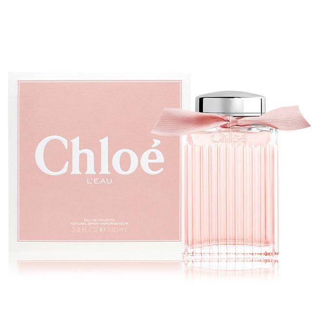 Chloe' L'EAU 粉漾玫瑰女性淡香水(100ml) EDT-公司貨