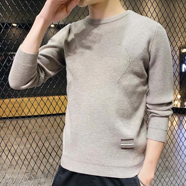 潮流時尚日韓街頭簡約百搭暖針織毛衣