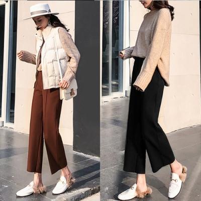 【韓國K.W.】(預購)韓國設計春漾哈倫褲