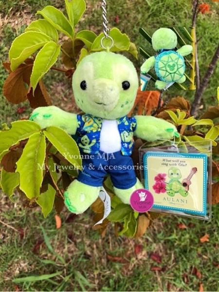 *Yvonne MJA夏威夷 迪士尼度假村Aulani限定正品 Duffy的最新朋友 Olu 吊飾娃娃