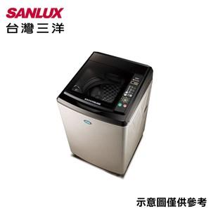 原廠好禮二選一【SANLUX台灣三洋】15公斤超音波單槽洗衣機SW-15NS6