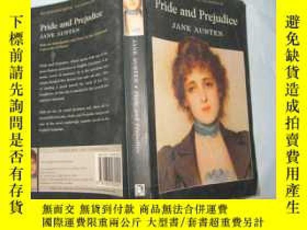二手書博民逛書店Pride罕見and Prejudice (英文原版 傲慢與偏見 大32開插圖多 )Y13462 Jane A