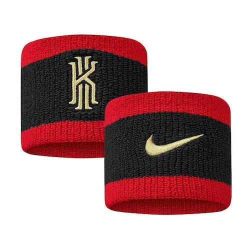 Nike Kyrie Swoohs [N1001562997OS] 腕帶 護腕 運動 打球 健身 吸濕 排汗 乾爽 黑紅